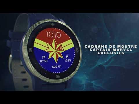 Garmin présente les montres connectées Legacy Hero Captain Marvel et First Avenger