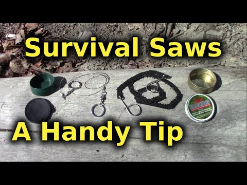 Survival Saws - Smart Way To Use
