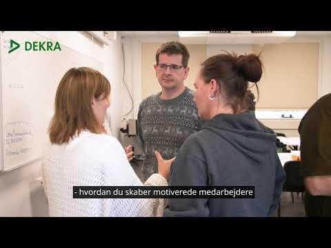 Præsentationsvideo af Den grundlæggende Lederuddannelse