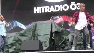 ESCKAZ in Vienna: David Rodriguez-Yanez (Nadav Guedj stand-in) - Golden Boy (at Eurovillage)