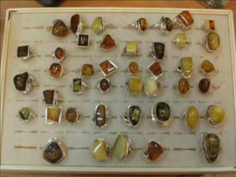 Natural Baltic Amber And Silver Jewelry - Silver And Amber Jewelry From Poland