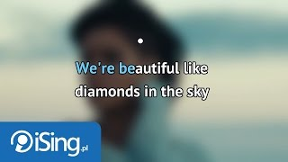 Rihanna - Diamonds (karaoke iSing)