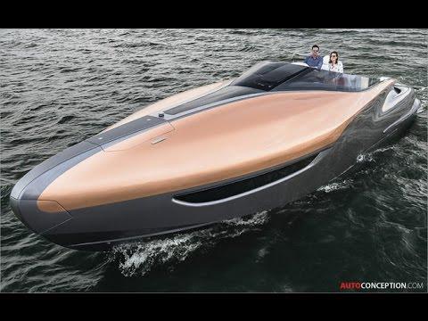 Transportation Design: 2017 Lexus Sport Yacht Concept