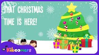 Christmas Time Is Here | Kids Christmas Songs | Lyrics | Preschool Songs