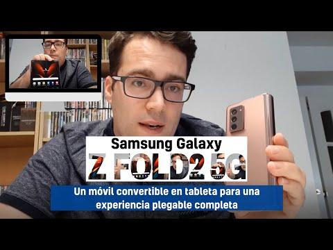 Análisis del Samsung Galaxy Z Fold2 5G