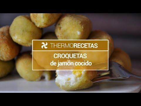 Croquetas de jamo?n cocido y maíz