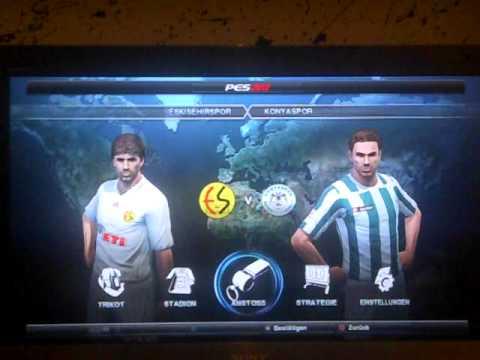 PES 2012 STSL Spor Toto Süper Lig + Bankasya 1. Lig PS3