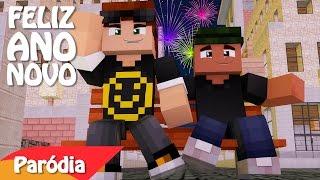 """Minecraft: PARÓDIA ANO NOVO GLOBO - """"Um Novo Mundo"""""""