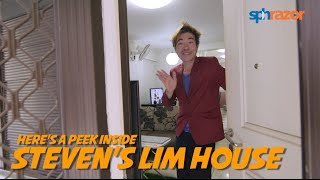'Superstar' Steven Lim gives the Stomp team a tour of his home: Take a look inside
