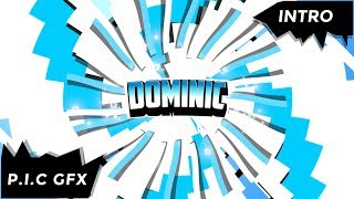 Youtube Intro Template Dominic + FREE DOWNLOAD