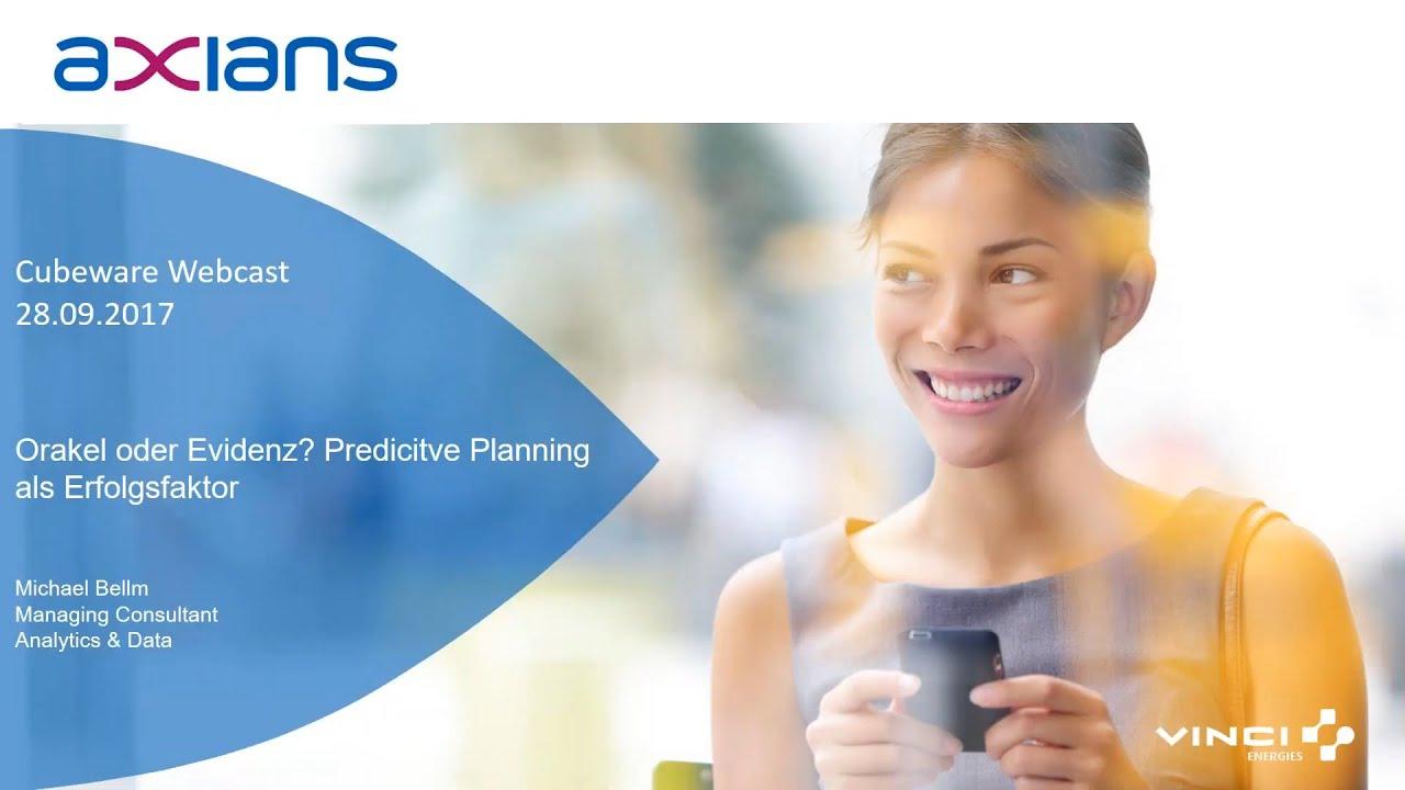 Orakel oder Evidenz: Predictive Planning als Erfolgsfaktor