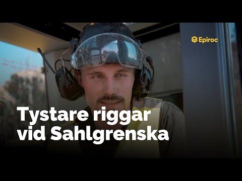 Ljuddämpad SmartROC T35 vid Sahlgrenska Sjukhuset