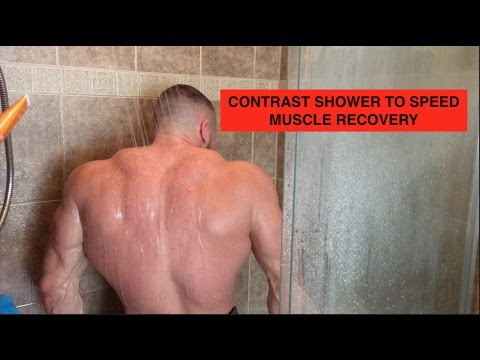 Contrast Shower to Speed Muscle Recovery