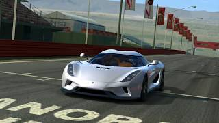 Real Racing 3- Koenigsegg Regera Top Speed (279.??) The Only Car Which Goes Full Top Speed?