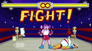 Right Now Kapow - Video Game Fighter