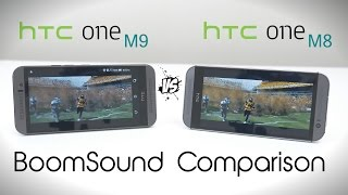 HTC ONE M9 vs HTC ONE M8 - Speaker Comparison
