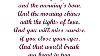Broken Circle Breakdown - If in needed you with lyrics