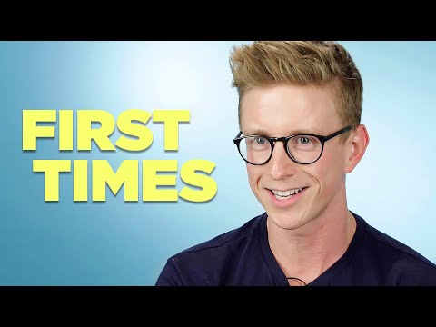Tyler Oakley Tells Us About His Firsts