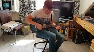 Metallica - Ride the Lightning solo cover