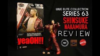 JPT TOY REVIEW #47: MATTEL WWE ELITE COLLECTION 63 SHINSUKE NAKAMURA