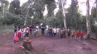 Canto de Ángeles - Comunidad Guarani Jasy Pora - Selva de Misiones  Argentina