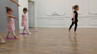Ballet - Collins: Brother Bear:  On My Way (Dot to dot)