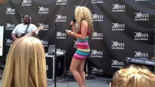 Haley Reinhart - Wasted Tears & Intro at Mall Of America -