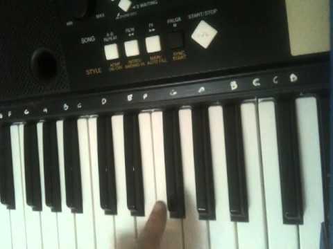 Comment jouer les simpsons au piano