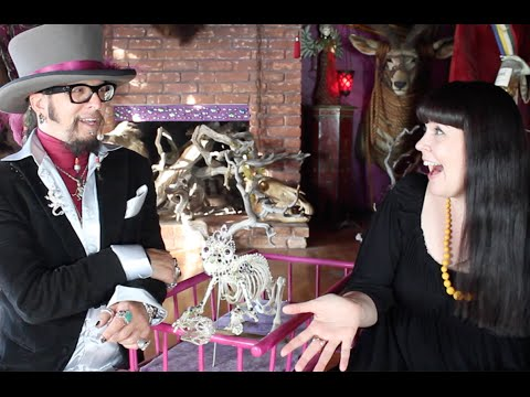 Sex Ghosts, Gilded Mummies, and Jeweled Skeletons with Paul Koudounaris