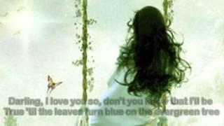 Evergreen Tree ( 1960 ) - CLIFF RICHARD - Lyrics