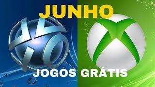 JOGOS GRÁTIS MÊS JUNHO XBOX LIVE E PSN, XBOX DANDO PAU EM PSN NOS GAMES ?