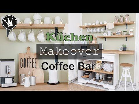 ROOM MAKEOVER Küche | Kaffee Bar und Sitzecke selber bauen | Upcycling | VERLOSUNG | DekoideenReich