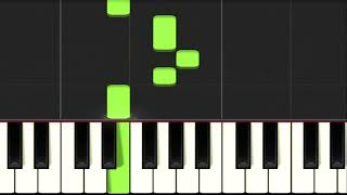Simple and beautiful music to practice and play on the piano width=
