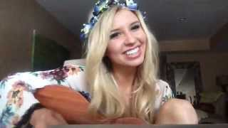 Becky G - Shower Cover by Tiffany Houghton
