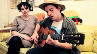 Acrylics - It's Cool Here (live acoustic on Big Ugly Yellow Couch)