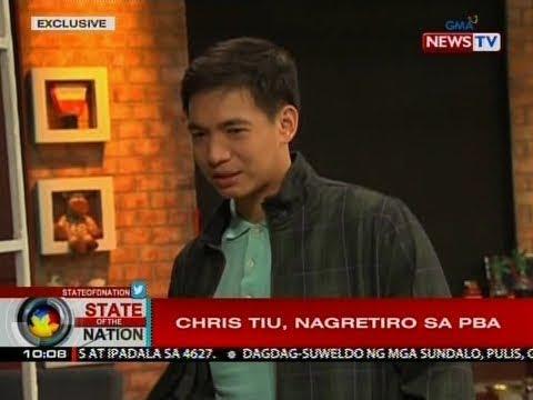 SONA: Chris Tiu, nagretiro na sa PBA
