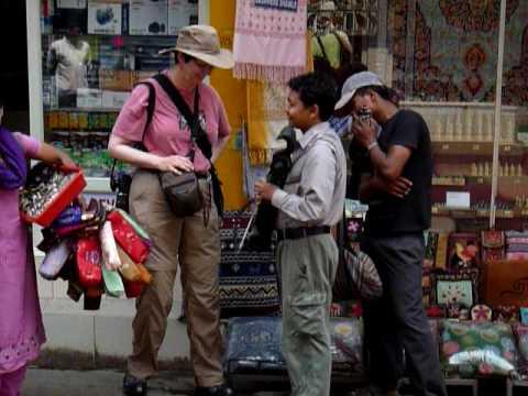 Thamel Street Vendor