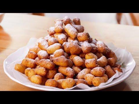 Готовьте сразу двойную порцию. Мои друзья ели и плакали от наслаждения. Творожные пончики.