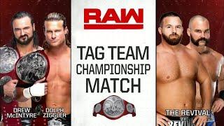 Dolph Ziggler & Drew McIntyre Vs. The Revival Highlights | RAW 9.24.2018
