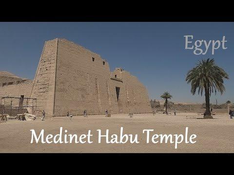 EGYPT: Medinet Habu / Ramesses III Temple - Luxor