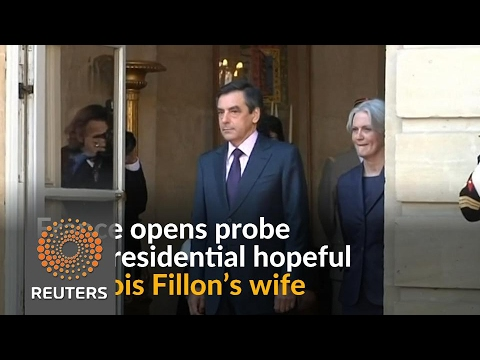 French prosecutors open inquiry into wife of presidential hopeful Fillon