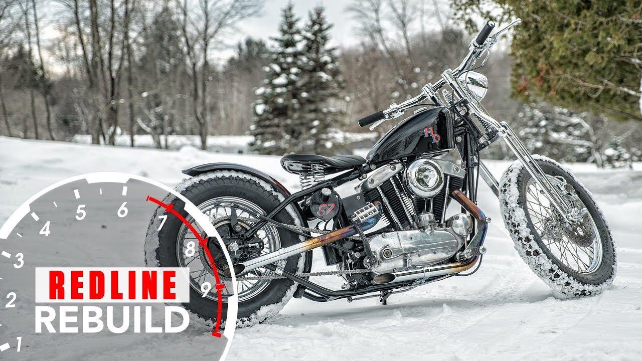 Redline Rebuild: Harley-Davidson Sportster Motorcycle Rebuild Time-lapse