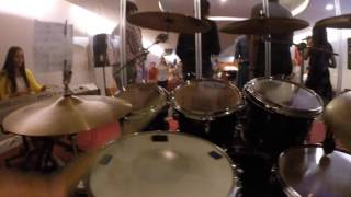 Alza Tus Ojos y Mira: Marco Barrientos - Drum Cover by Amanda Medina