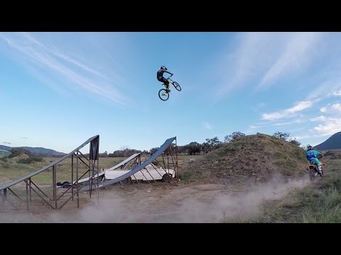 GoPro: MX Rider Launches MTB Over 50ft Jump