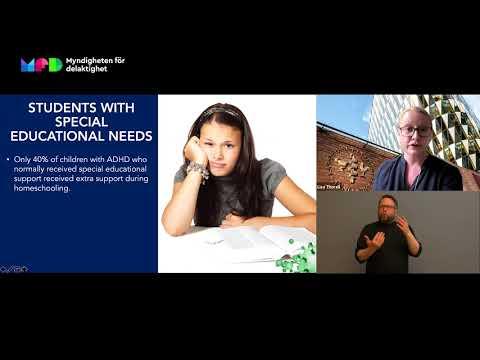 Återhämtning för barn och unga med funktionsnedsättning i skolan efter pandemin (textad)