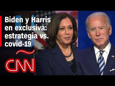 Exclusiva: Biden y Harris hablan sobre su plan para contener el covid-19