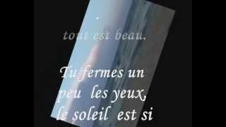MONACO - Francois Maurice lyrics on screen