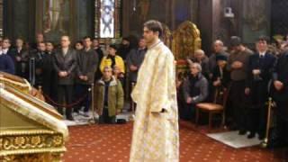 MUZICA PSALTICA bizantina romaneasca IUBITE-VOI DOAMNE, Liturghie, Matei Ciprian.wmv