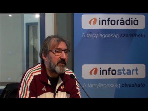 InfoRádió - Aréna - Eperjes Károly - 2. rész - 2019.03.12.