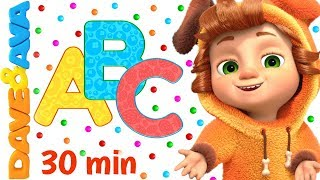 🐭 ABC Song + More Nursery Rhymes & Kids Songs | Dave and Ava 🐭